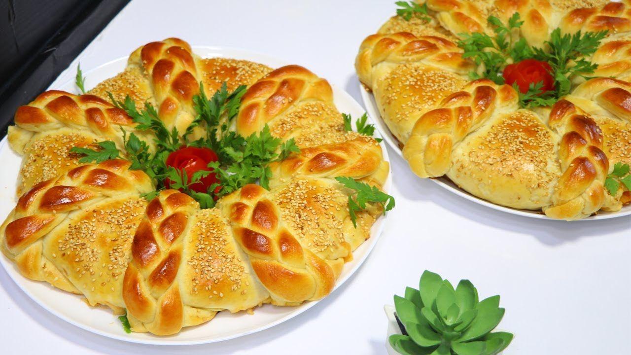 فطيرة البيتزا الذهبية بعجينة أسفنجية قطنية مع طريقة تشكيل مميزة وسهله الذ بيتزا بطريقة جديدة مع رباح Youtube Lebanese Recipes Zucchini Oatmeal Golden Pizza