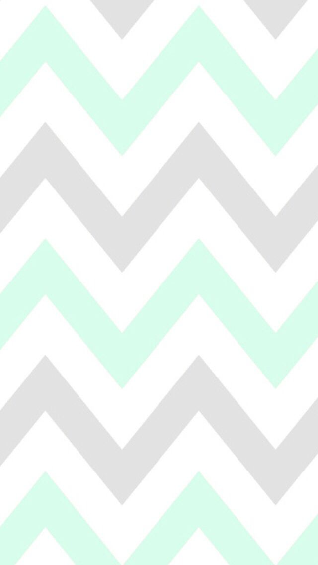 mint chevron cocoppa wallpaper cute cocoppa pinterest
