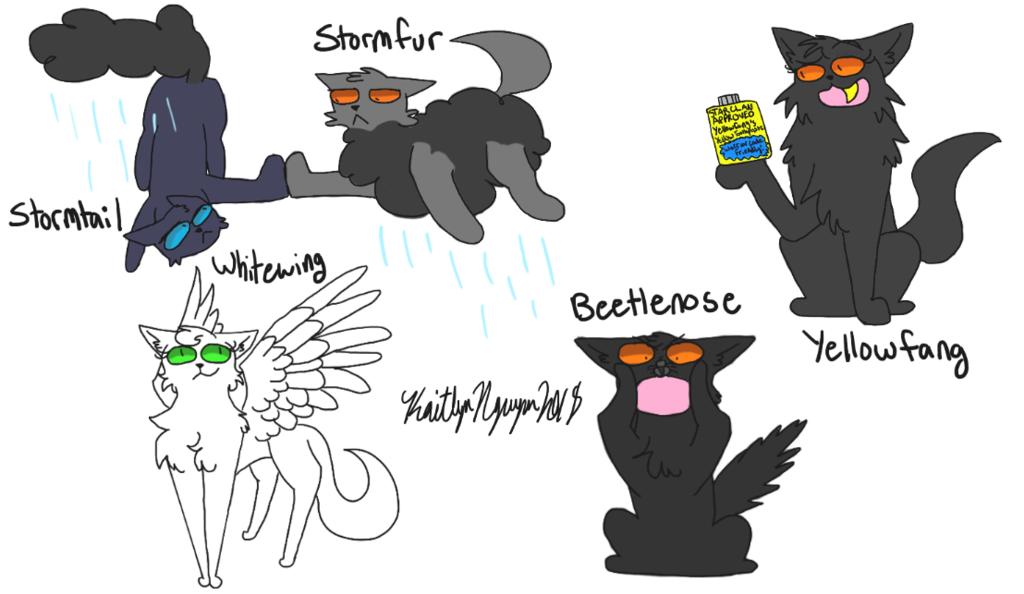Warriors Cats Names Taken Literally 4 by bestsk8eva   Warrior cats comics,  Warrior cats funny, Warrior cat names