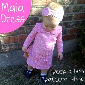 Maia Dress: Sizes 12 mos. - 8 years