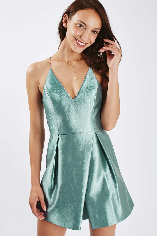 Crinkle Satin Prom Dress - Dresses - Clothing   Crinkles, Satin and Prom