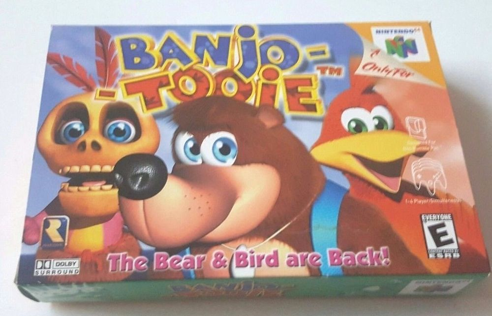 Nintendo 64 Banjo Tooie Box Manual Paperwork No Game Complete