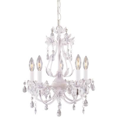 The Chandelier We Bought For Babys Room It Has An Antique White Finish With Dining ChandeliersCrystal