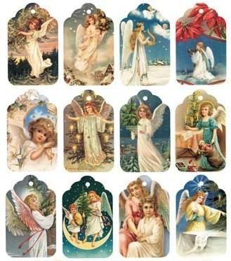 Etiquetas de angeles para imprimir , dos láminas con muchisimas etiquetas de angeles para imprimir . Imprimelas y recorta las que más te gu...