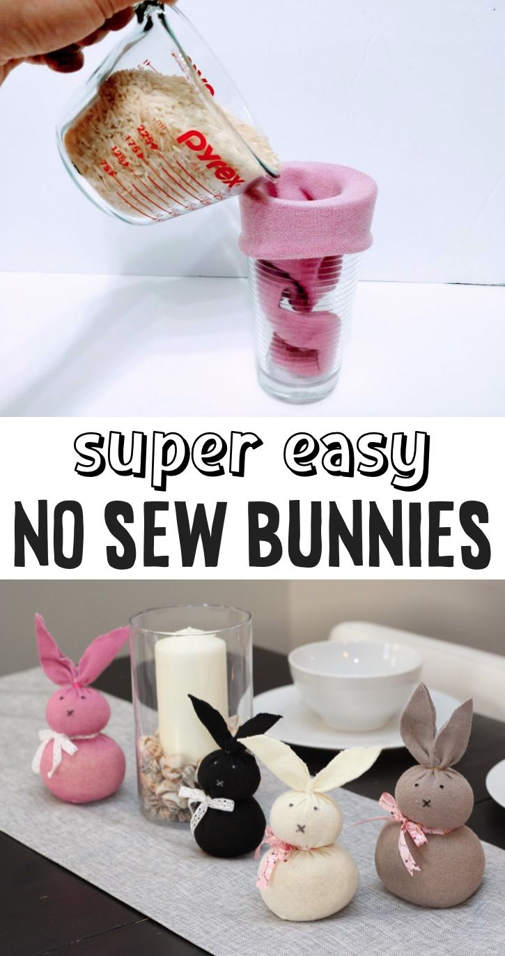 Adorable DIY No-Sew Bunny Tutorial (Quick & Easy C