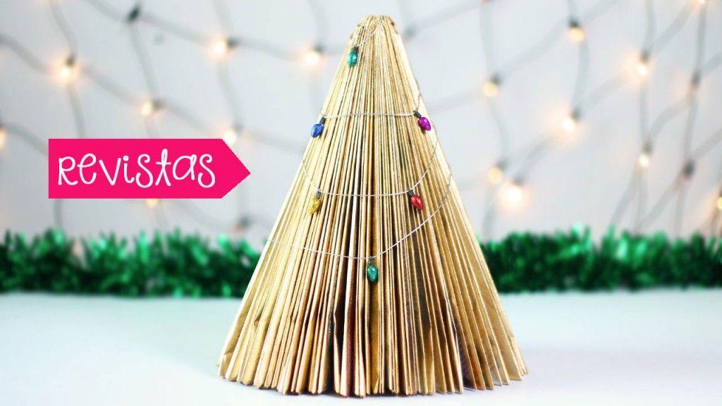 Ideas de rboles de navidad fciles para la casa u oficina