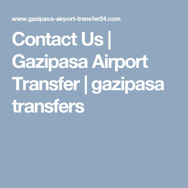 Contact Us Gazipasa Airport Transfer gazipasa transfers