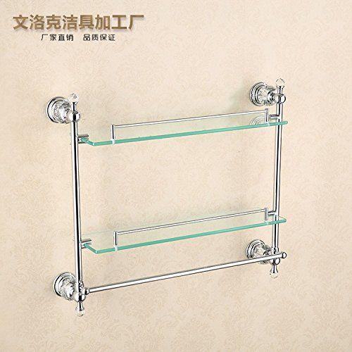 Jinyidianshop Bathroom Or Kitchen Towel Bar Holder Wall Mount