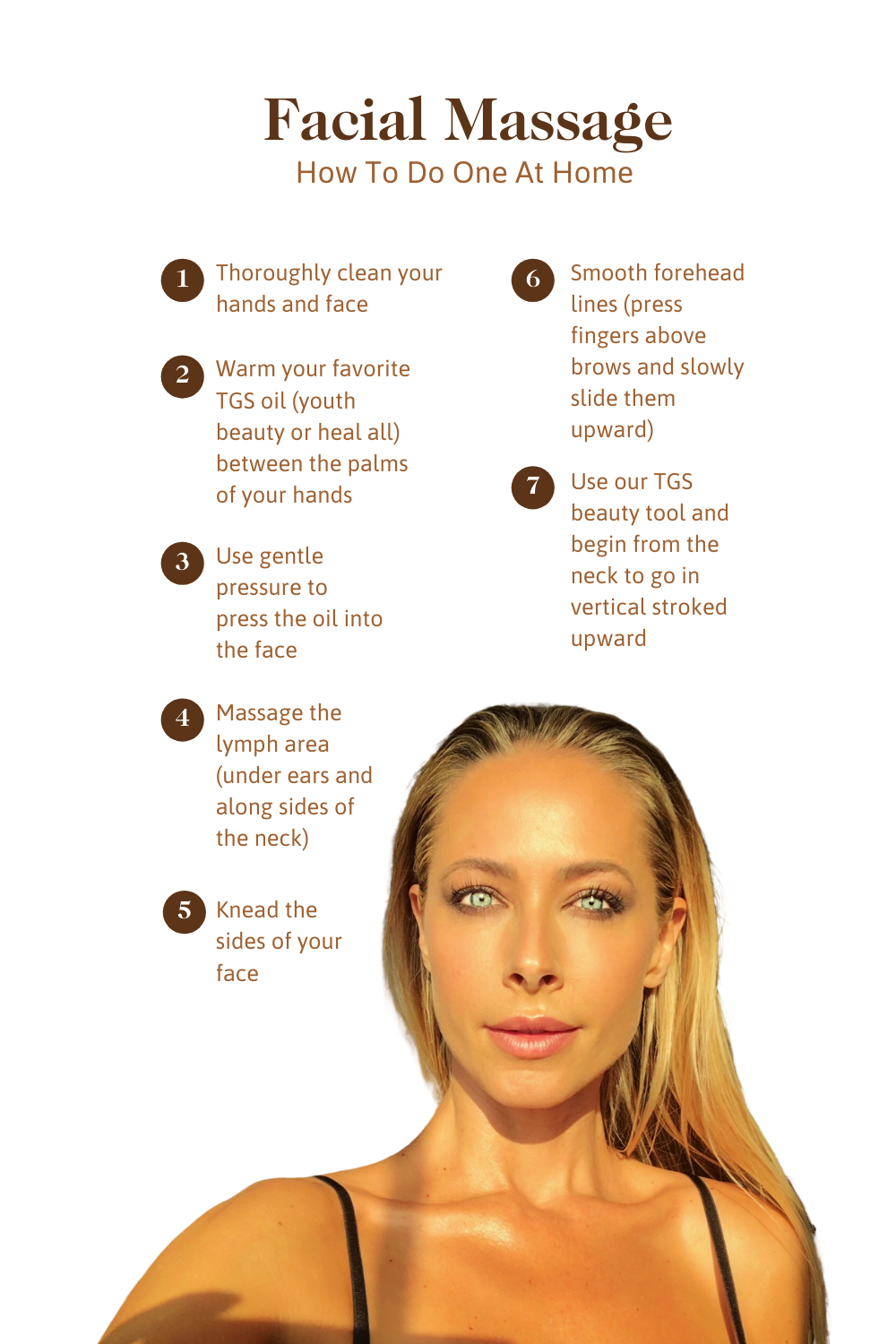 How To Give Yourself A Facial Massage In 2020 Facial Massage Chemical Free Skin Care Facial