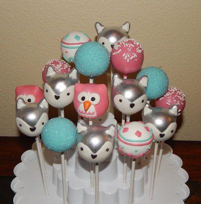 Items similar to Hazelnut Hedgehog Cake Pops on Etsy |Woodland Cake Balls