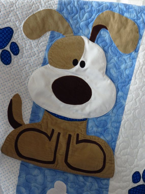 Puppy Dog Quilt For Baby Baby Quilt Ideas Dog Quilts