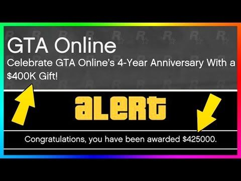 awesome GTA ONLINE 4-YEAR ANNIVERSARY UPDATE - NEW SUPER CAR, FREE ...