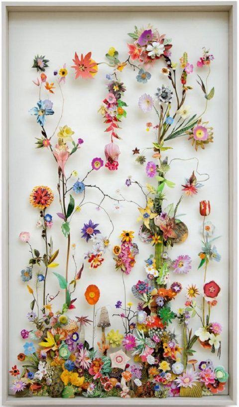Flower Collages Swissmiss Pressed Flower Art Flower