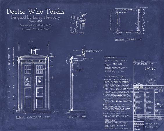TARDIS Blueprint Scenic Designs Pinterest Scenic design - copy meaning of blueprint in education