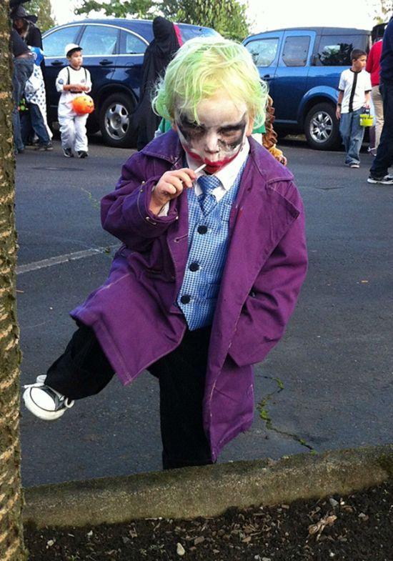 Halloween-Costumes~~mini joker