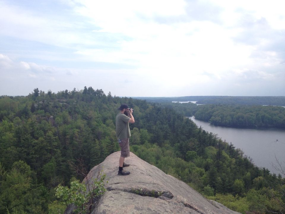 Hiked Rock Dunder. Had an awesome day. Beautiful view.