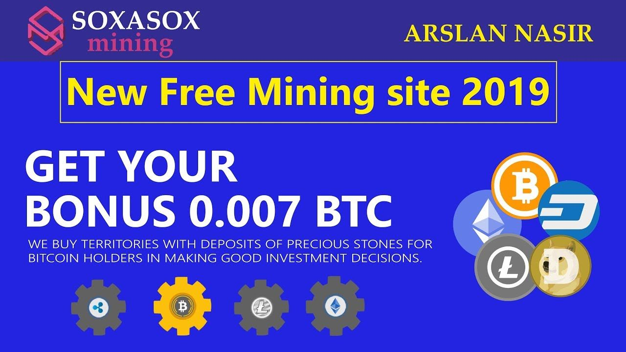 Soxasox Mining Limited | Earn Free Bitcoin Free Mining Site | Signup