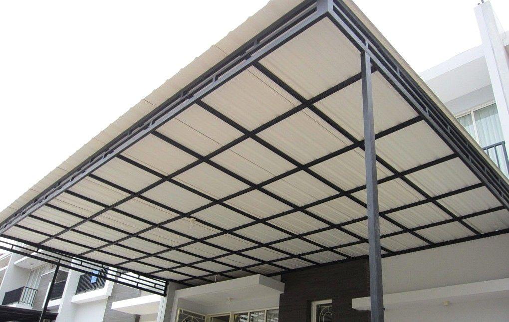 Kanopi Baja Ringan Vs Galvanis 30 Rumah Minimalis Atap Upvc Avantguard