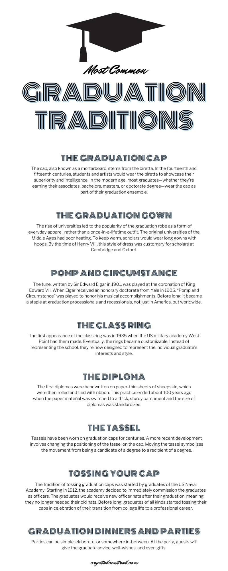 Most Common Graduation Traditions In 2021 Law School Graduation Graduation Police Academy Graduation