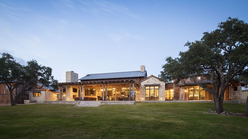 Llano Ranch Ranch House Designs Ranch Style Homes Hill Country Homes