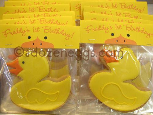 Ducky Favors with TOPPER | Flickr - Photo Sharing!