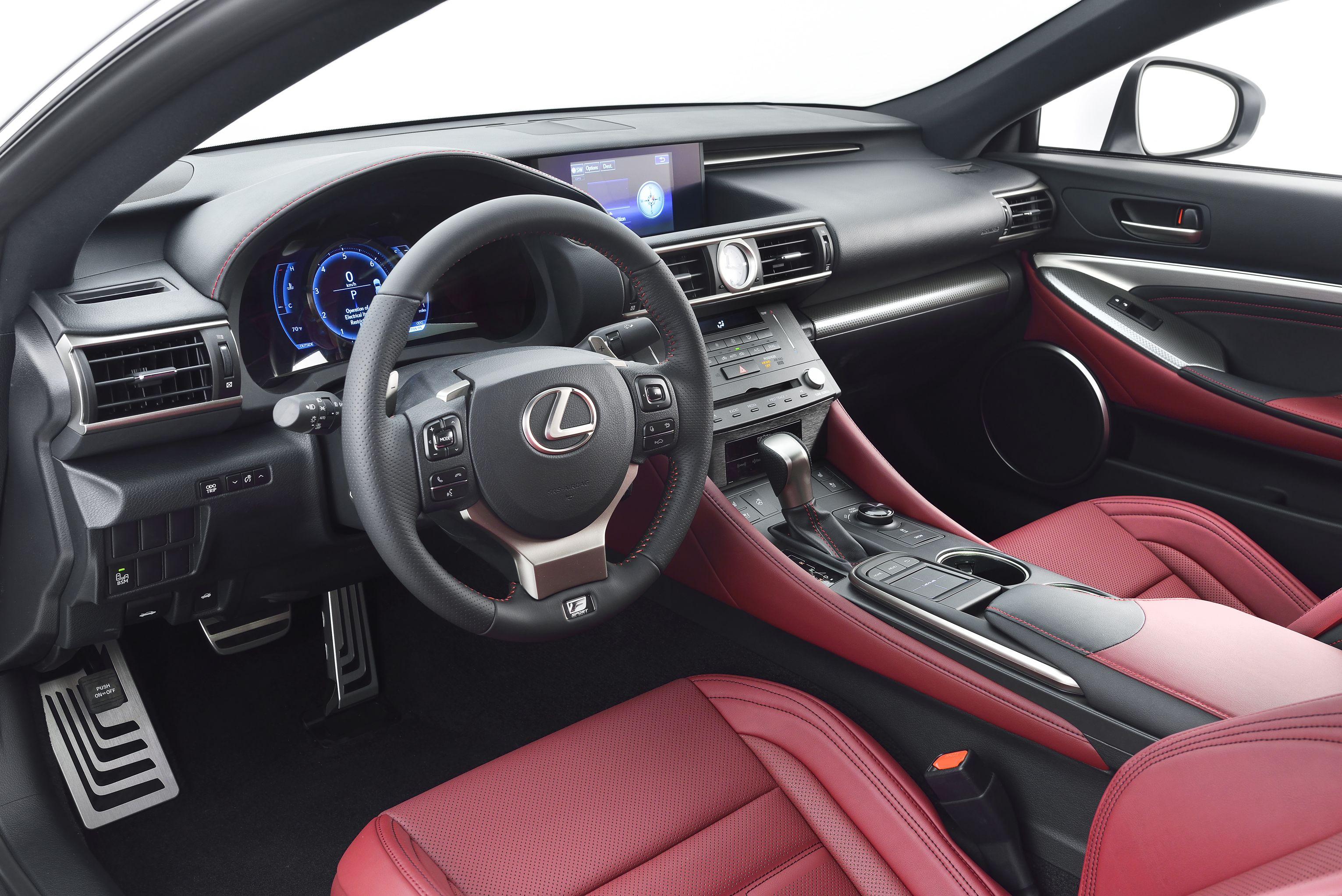 Imagining the 600 Horsepower TwinTurbo Lexus RC FS Coupe