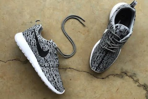 comentarista equipaje Bóveda  Nike Roshe Yeezy 350 Custom | Streetwear shoes, Yeezy, Sneakers