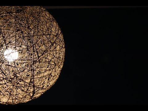 DIY Seil-Lampe - YouTube | Wedding | Pinterest | Seil-lampe, Youtube ...