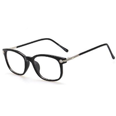 3c87de076463 AOFLY Plain Eyeglass Frames Vintage Eye glasses Clear lens Optical Glass  for Women Men Retro Frame gafas armacao oculos de grau-in Eyewear Frames  from Men s ...