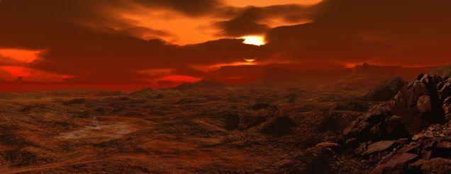 What Will Happen When The Sun Dies Astronomy Venus Landscape