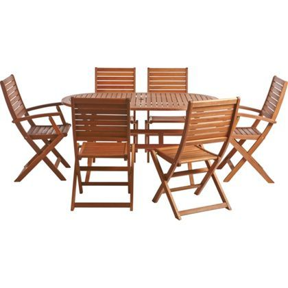 Peru 6 Seater Garden Furniture Set
