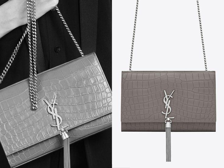 6a50d8943c Saint Laurent Classic Monogram Tassel Satchel - shopping bags online ...