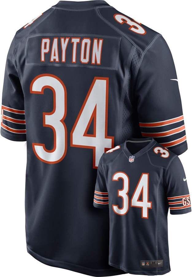 c8149f711b5 Men's Chicago Bears Walter Payton Elite NFL Replica Jersey  #FEATURES#Silcone#Payton