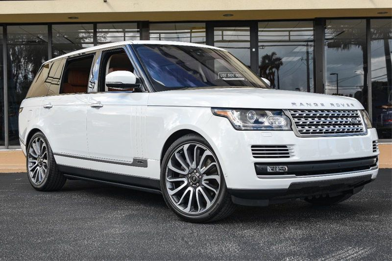 Cool Amazing 2017 Land Rover Range Rover V8 Supercharged