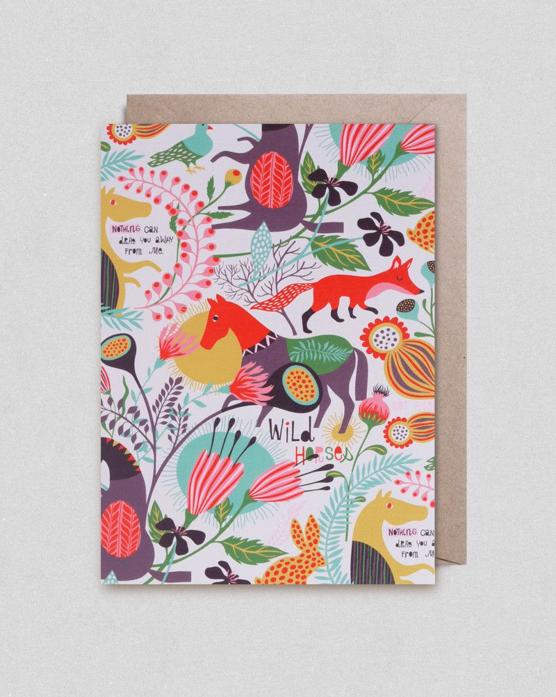 Greeting card by Helen Dardik | Lagom Design