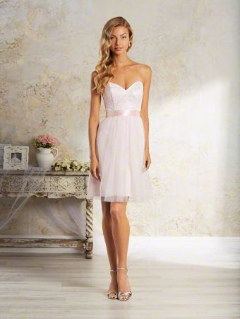Alfred Angelo Bridal Style 8639S from Modern Vintage Bridesmaid Dresses