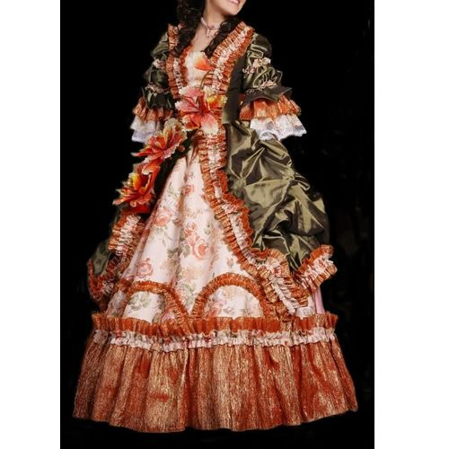 Victorian Colonial Prom Dress Ball Gowns Halloween Costumes ...