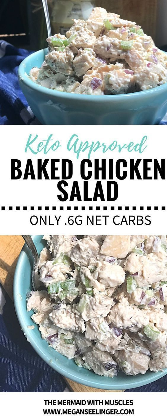 Keto Chicken Salad Rotisserie Canned And Leftover Chicken Recipes Recipe Food Keto