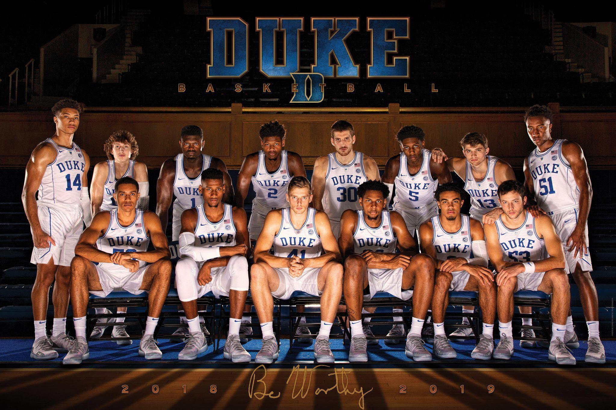 2018 2019 Duke Blue Devils Basketball Duke Basketball Duke Basketball Players