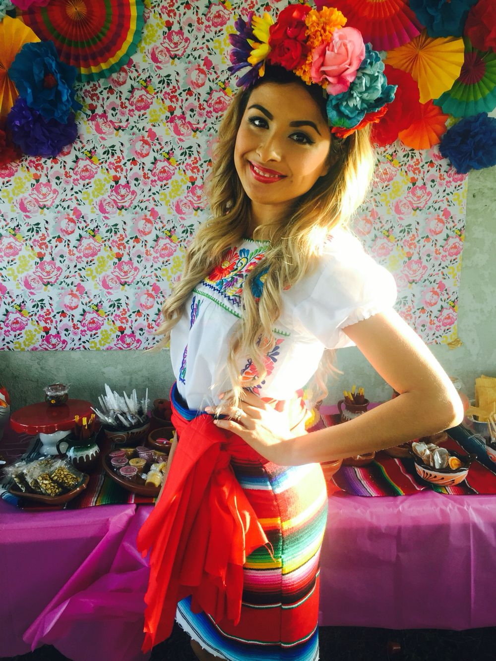 Zarape Skirt Mexican Fiesta Outfit In 2019