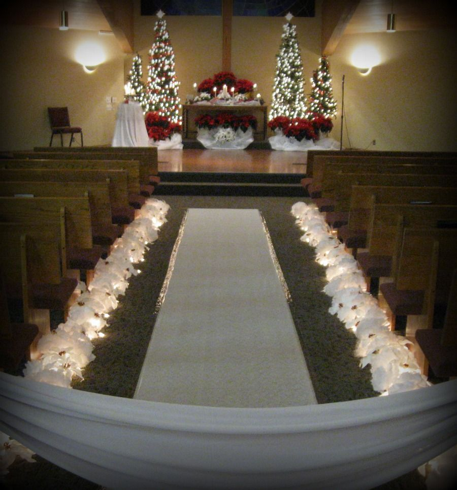 Winterscapes Christmas Wedding Decorations Christmas Wedding