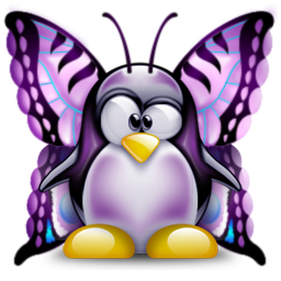 Butterfly Tux Lupus Awareness Penguins Lupus
