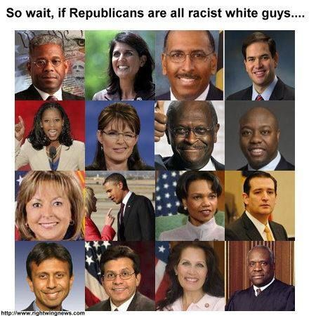 Republicans come multi-colored...not for just white people anymore..