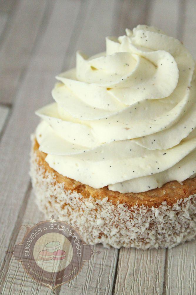 Petit gâteau noisette, gianduja et vanille - Surprises et gourmandises