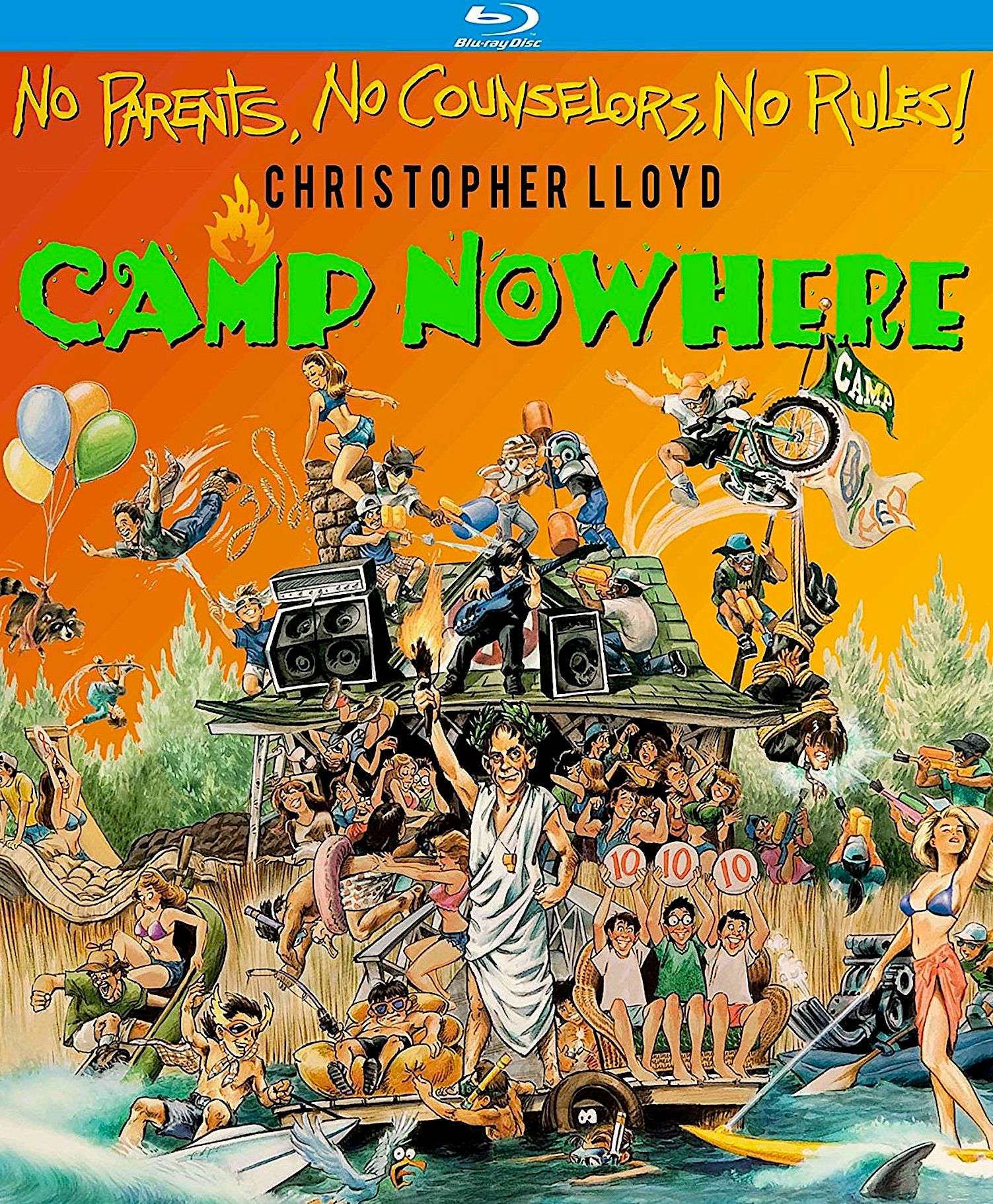 Camp nowhere special edition bluray kino lorber best