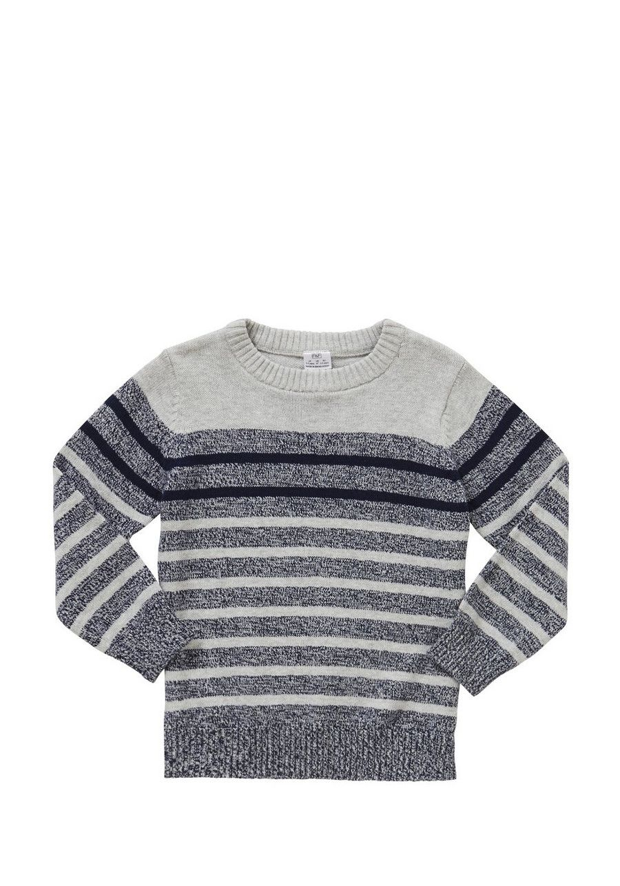 li>This pure cotton crew neck jumper is great for layering, and ...