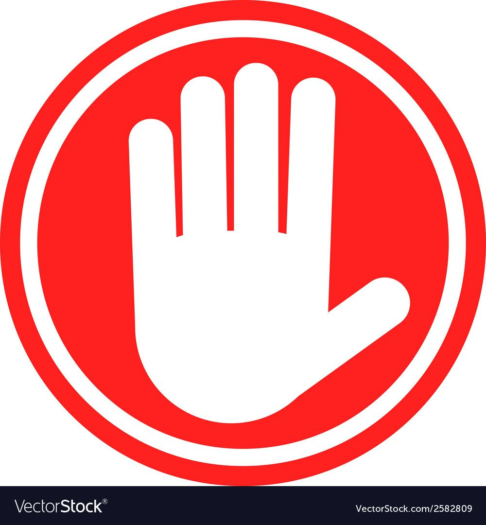 Stop Sign With Human Hand Warning Sign Hazardous Sign Download A Free Preview Or High Quality Adobe Illustrat Stop Sign Emoji Signs Watercolor Wallpaper Phone