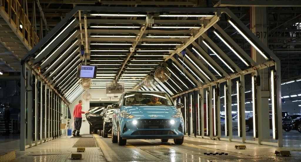 Da Inicio La Produccion De La Nueva Generacion De Hyundai I10 Automoviles Coches Motor Mexico Drive Cars Autos En 2020 Generaciones Europa Automoviles