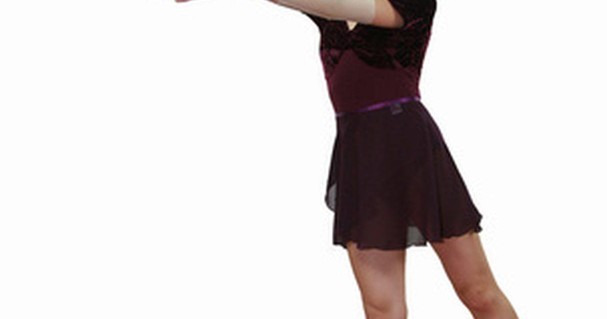 Cómo hacer una falda cruzada de Ballet | costura | Pinterest | Como ...