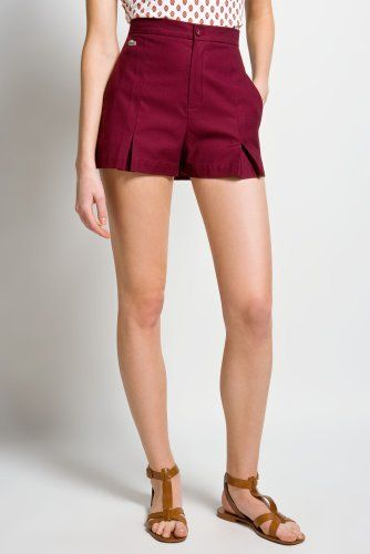 High Waisted Shorts Cotton - The Else